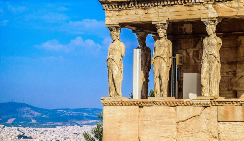 1. Mythology Tour of <br/>Acropolis & Museum