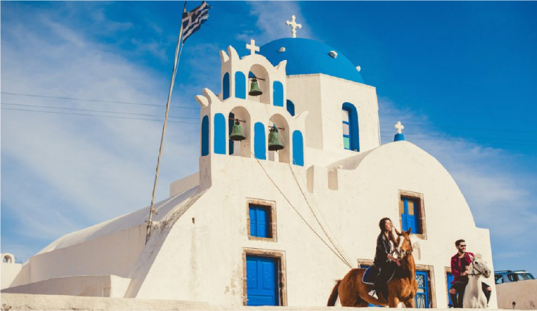 Santorini Horse Riding <br/>at Eros Beach