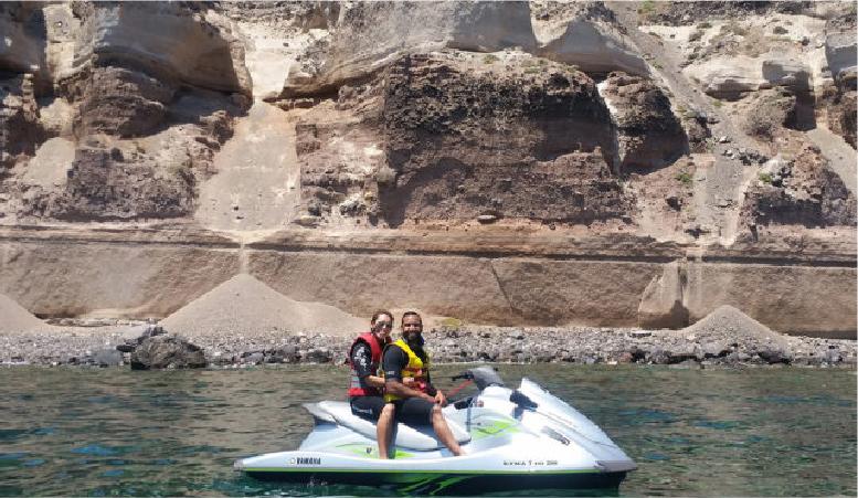 3. Jet Ski Safari <br/>at Santorini